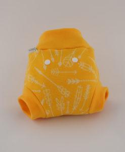 Gatki SIO wełniane żółte strzałki