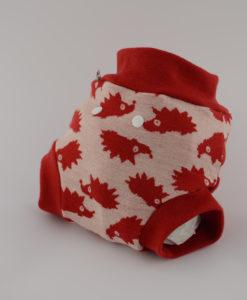 Gatki SIO wełniane czerwony jeżyk